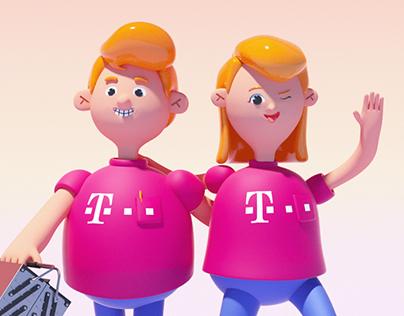 Telekom Character Configurator