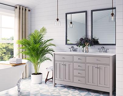 Elegant Bathroom Design and Decor Ideas   3D Archviz