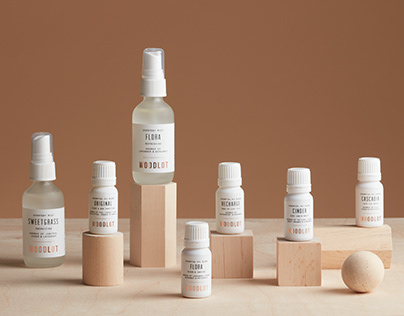 Woodlot Essential Oil Packaging Design