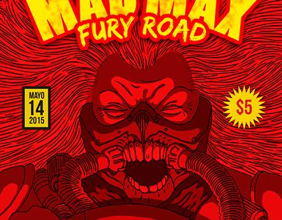 Comic Cover MAD MAX fury road