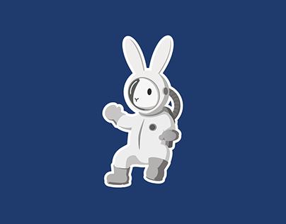 Ilustración de Personajes Misión Conejo Estelar