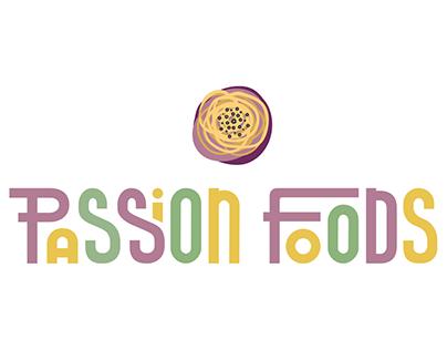 Passion Foods Branding