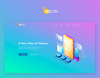 "Mobile App ""Welth"" 