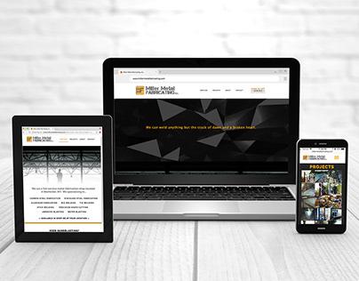 Miller Metal Fabricating, Inc. Branding & Website