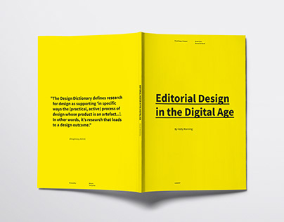 EDITORIAL DESIGN IN THE DIGITAL AGE