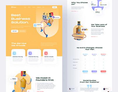 Daas - Digital Agency Landing Page