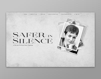 Safer in Silence website