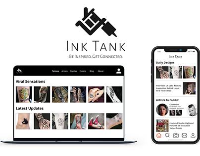 Ink Tank: Tattoo Social App Case Study