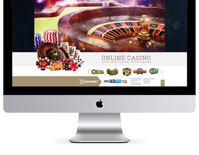 Bet & Games Web Design
