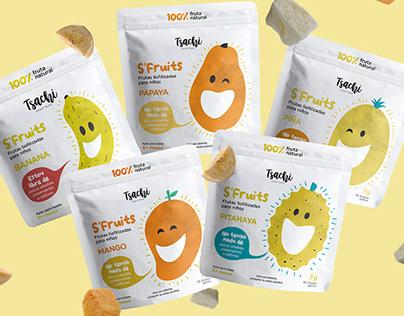 S'Fruits kids snacks