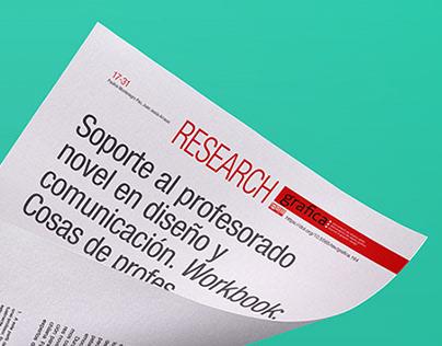 Publicación / Research Revista grafica. Cosas de Profes
