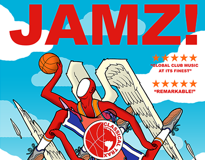 """Classical Trax - """"JAMZ!"""" Compilation Poster"""