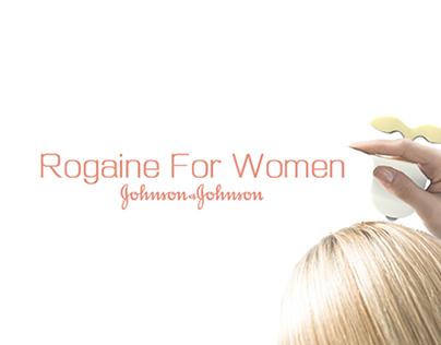 J&J ROGAINE FOR WOMEN