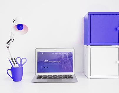 Web Design for cash register company
