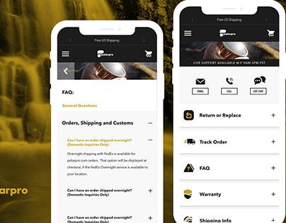 PolarPro Website Redesign