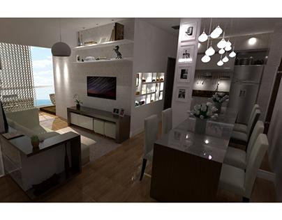 Apartamento - Reforma e Interiores (2013)