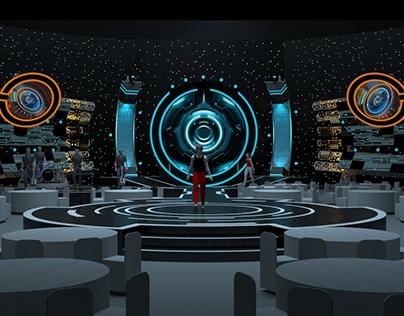 Futuristic Stage Concept