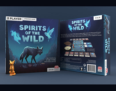 Spirits of the Wild: Tabletop Game for Mattel