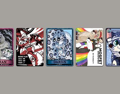 Fluffbutt Trading Cards Animation