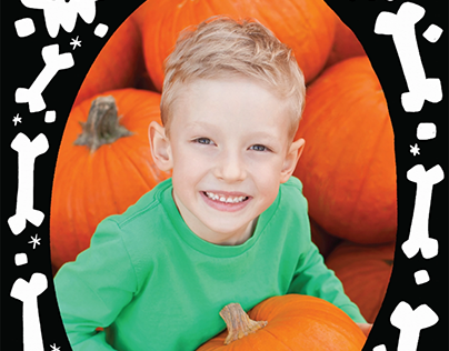 Postable Halloween Photo Cards