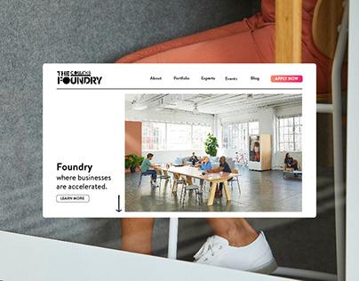 Cowrks Foundry | Wesbite Design
