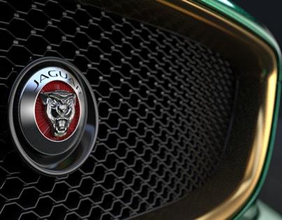 Jaguar Naked concept - 3D modeling