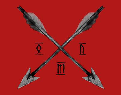 О.М.П Logotype