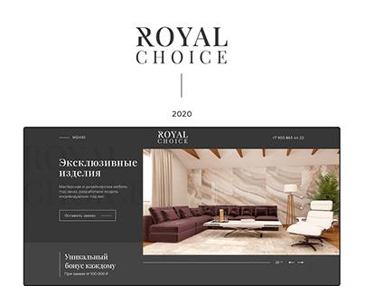Landing Royal choice