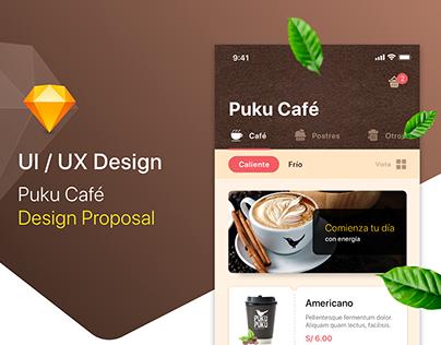 Coffee UI Design iOS