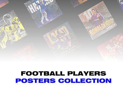 Football Players Poster Collection
