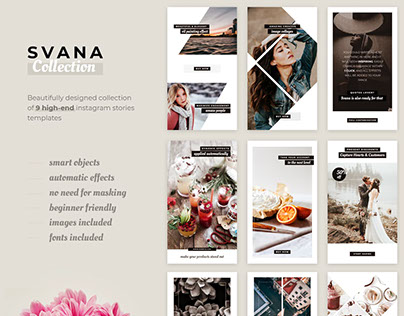 Svana - Instagram Stories Templates