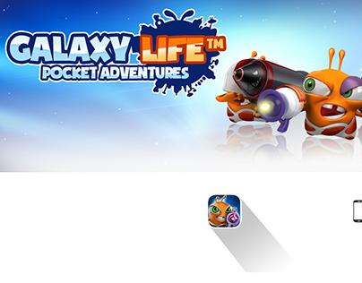 Galaxy Life Pocket Adventures UI/UX