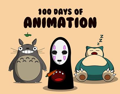 100 Days of Animation