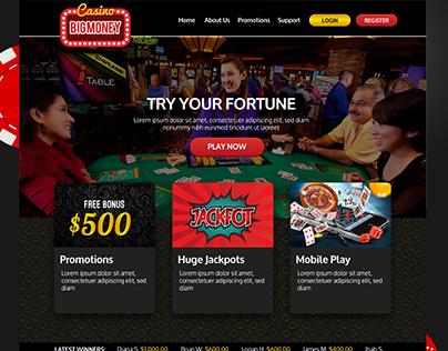 Casino BigMoney Website