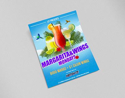 Lit at Midtown Margarita Monday Flyer