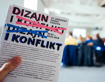 Visual identity of 13. Birthday of Zamek Cieszyn design