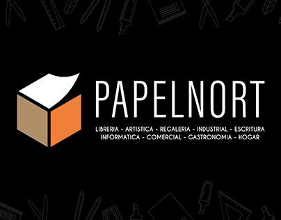 PAPELNORT | Identidad gráfica