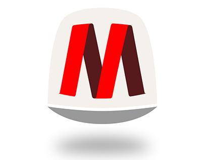 MediaCentrum Logo Design