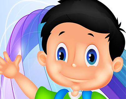 3D Cute Boy