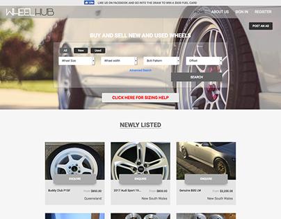 Wheel business website