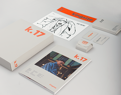 Kingsize magazine Re-design