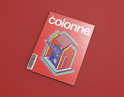 La Colonne - Architectural Magazine Design