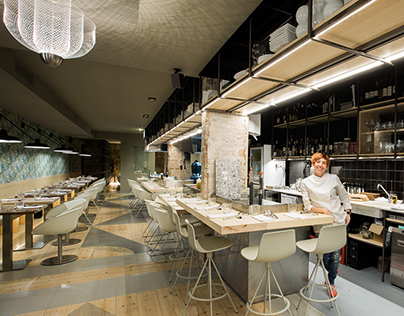 Re-evolucion: AQ Restaurant