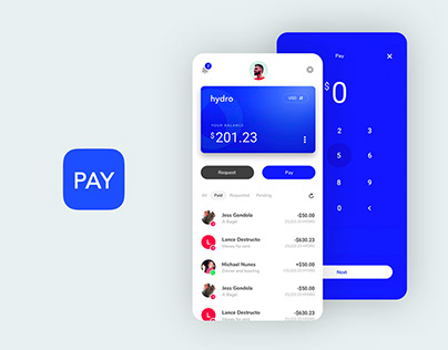 Cryptocurrency Wallet - Hydro Pay