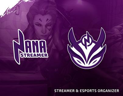 Nana Streamer - Logo Brand