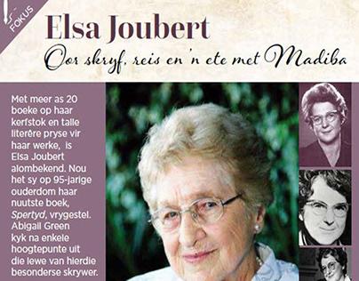 Content Writing - Author Elsa Joubert (Afrikaans)