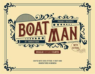 Boatman Font | Free Download