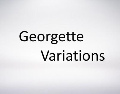 dress-form doodles (georgette variations)