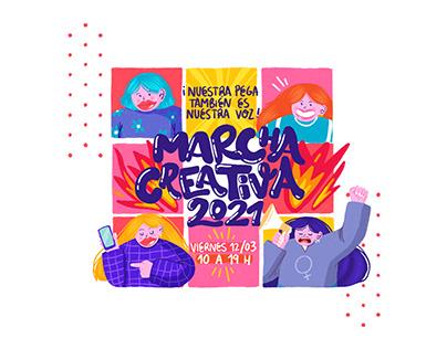 Marcha Creativa - Círculo de Creativas