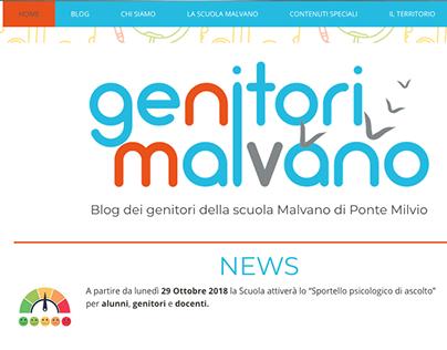 Logo e Sito-blog Genitori Malvano